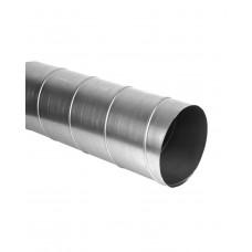 Воздуховод круглый из оцинкованной стали, L=1м